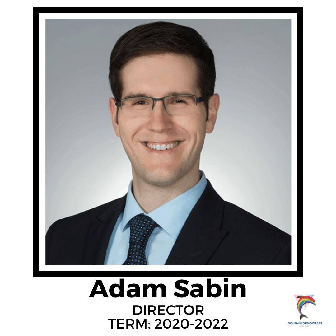 Adam Sabin - Director 2020-2022