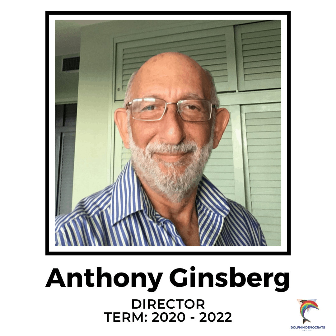 Anthony Ginsberg - Director 2020-2022