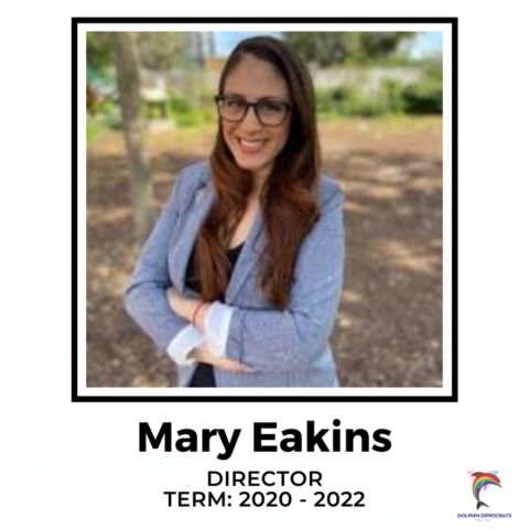 Mary Eakins - Director 2020-2022