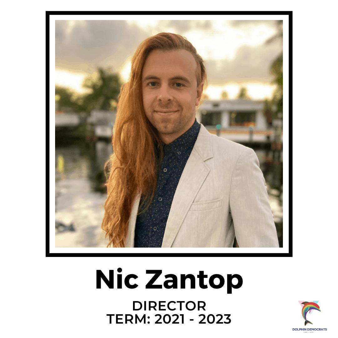 Nic Zantop - Director 2021-2023
