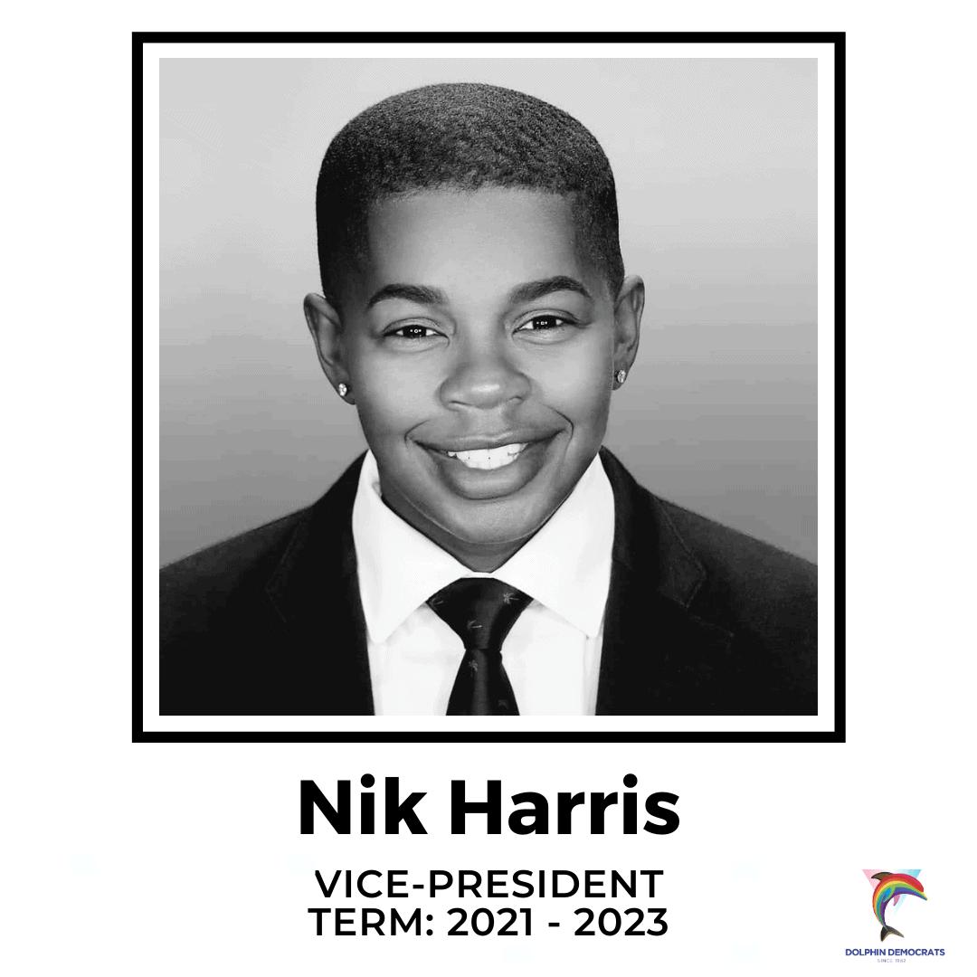 Nik Harris - Vice-President 2021-2023