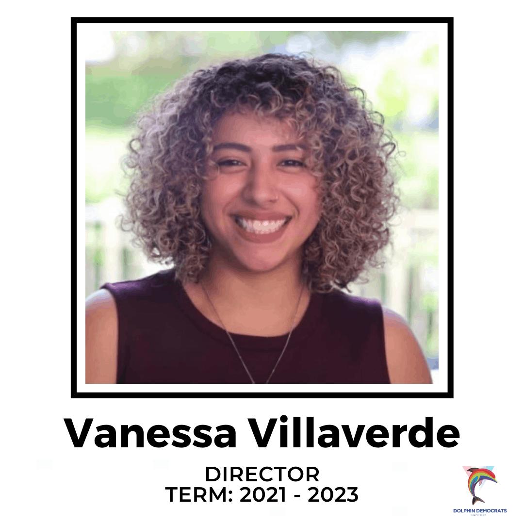 Vanessa Villaverde - Director 2021-2023